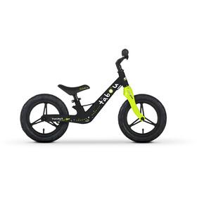 """TABOU Rocket Run Magnesium Balance Bike 12"""" Kids, black/green/white"""